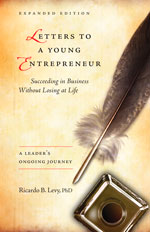 Letters to a Young Entrepreneur Book Cover Image